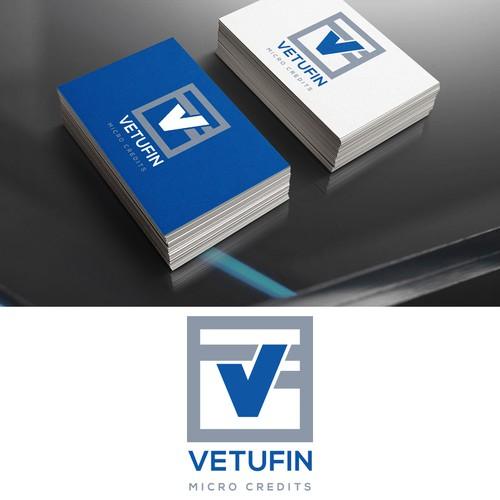 Bold logo for VETUFIN Micro Credits