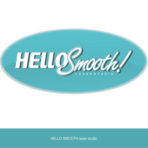 Logo for Hello Smooth - a laser hair removal studio