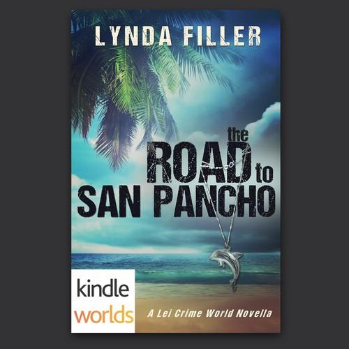 Bold cover design for a Kindle Worlds suspense novel