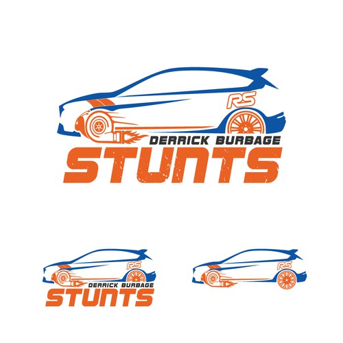 Stunt Driver Personal Logo