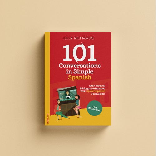 Book Cover concept for Languages book series