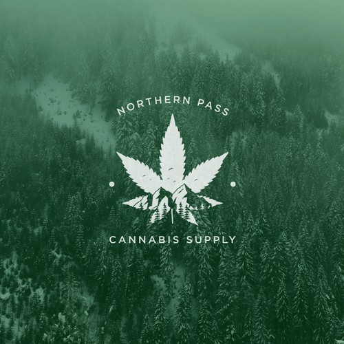 Vintage logo design for CANNABIS RETAIL