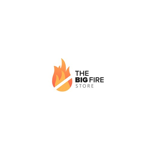 Logo for The Big fire store
