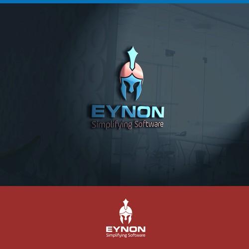 bold logo concept for EYNON.