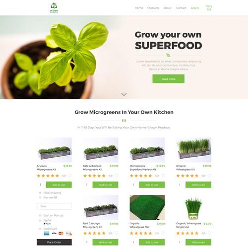 Organic Herb Kits