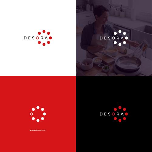 Design a high-tech logo for an IoT Cooking Startup