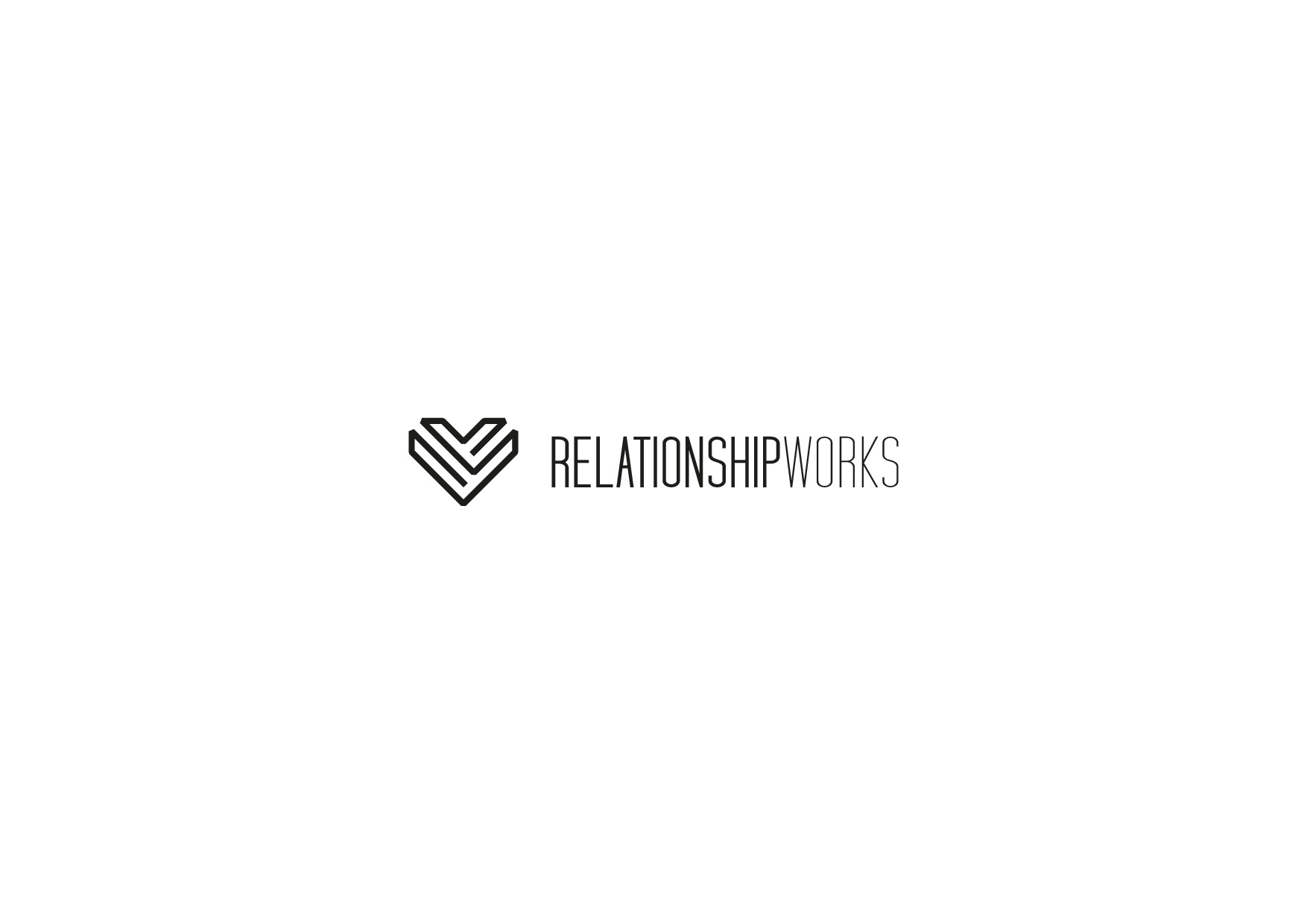 Design a modern logo for Relationship Works!