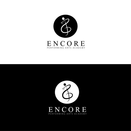 Create a classy but kid friendly logo for a music school