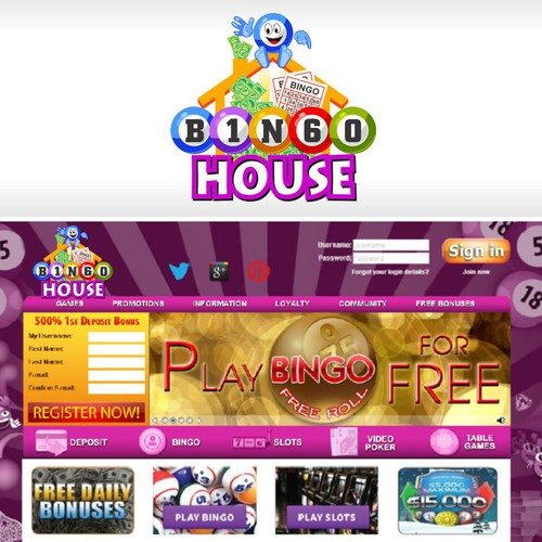 Bingo House Needs A New Logo!