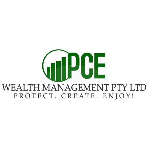 Create the next logo for P C E Wealth Management Pty Ltd
