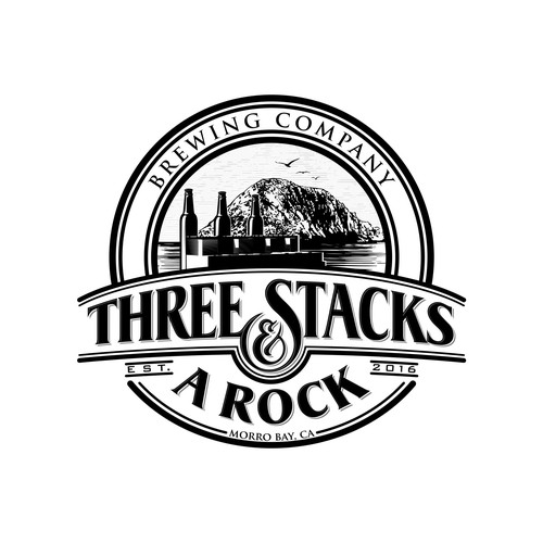 Three Stacks and a Rock