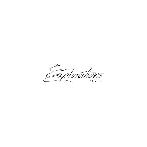 exotic logo for explorations travel