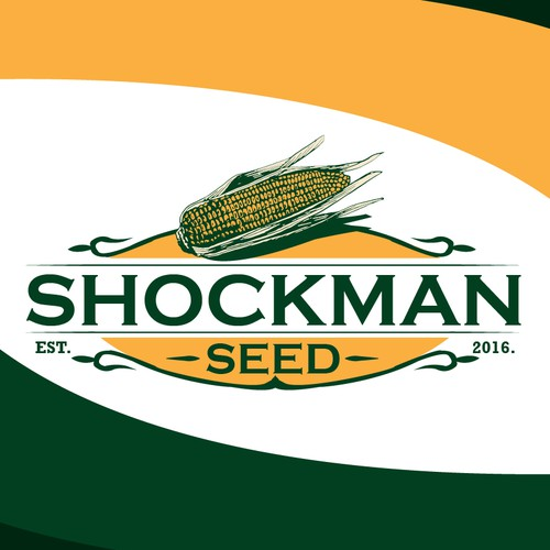 Shockman seed business logo