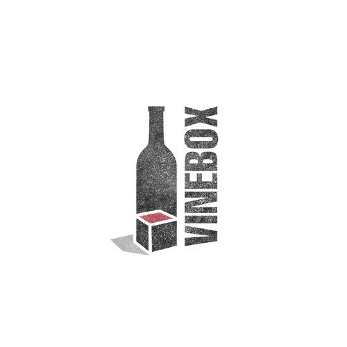 Logo design for vineBox, a bespoke wine tasting startup!!