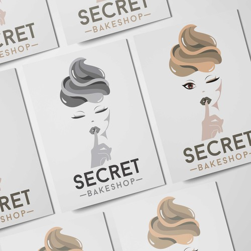 secret bakeshop logo
