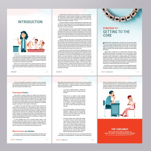 Formatting lead magnet (free eBook)