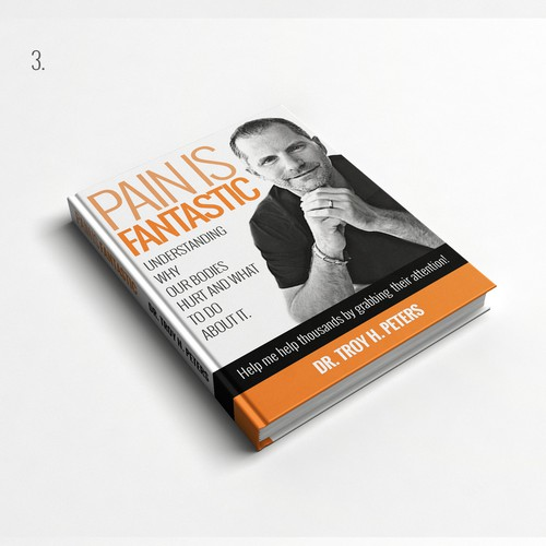 Book Cover for 'Pain is Fantastic'