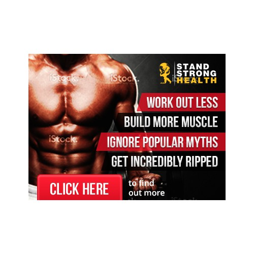 Banner add for fitness induatry.
