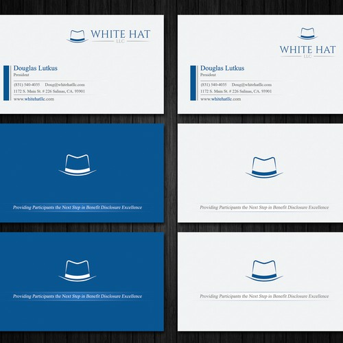 Business Card for White Hat