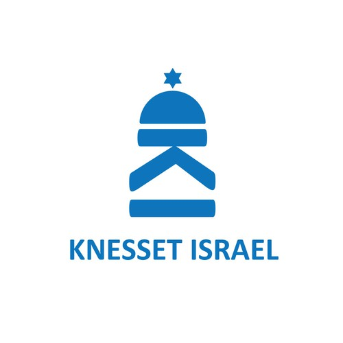 logo for KI with the name  Knesset Israel on the bottom or somewhere else in small print
