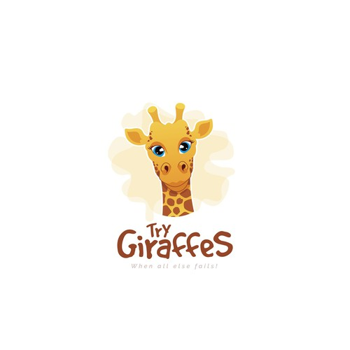 Try Giraffes Logo Design