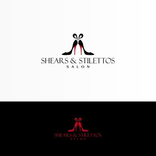 Logo Design for Shears & Stilettos Salon
