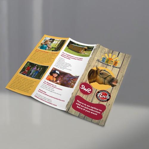Summer Camp Brochure for Kids Ages 9-16