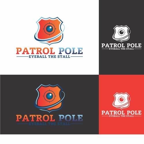 Patrol pole - Eyeball The Stall