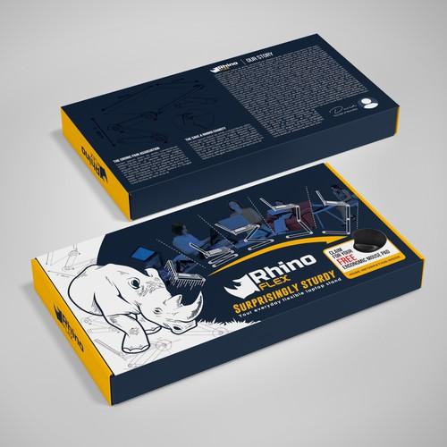 Packaging design for RhinoFlex
