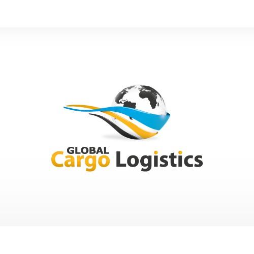 Logo concept for a logistics company