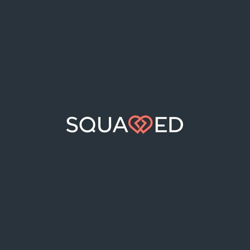 Trendy logo for Squadded