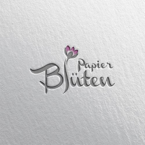 Papier Bluten