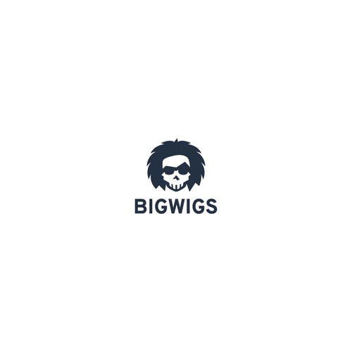 a skull logo for a personal blog