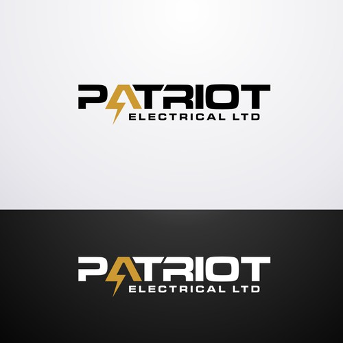 Help Patriot Electrical LTD with a new logo