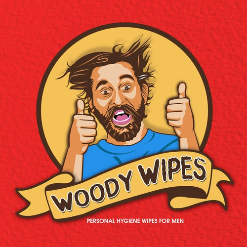Logo Design for Woody Wipes