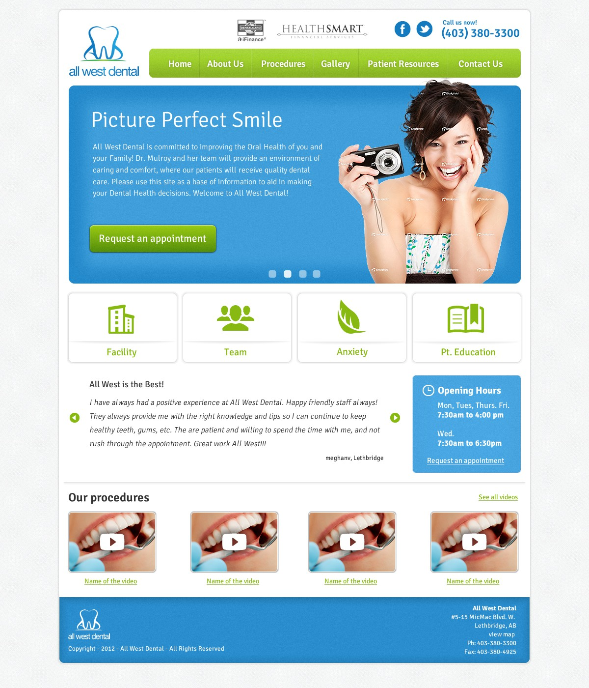 Create the next website design for Website for Dentists