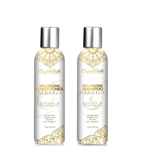 Shampoo and Conditioner Label