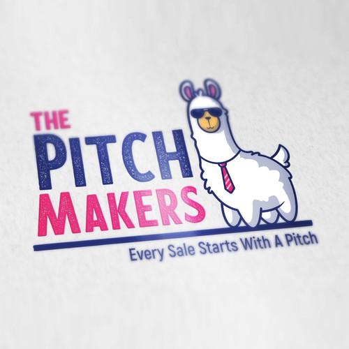 Fun Logo design for The Pitch Makers.