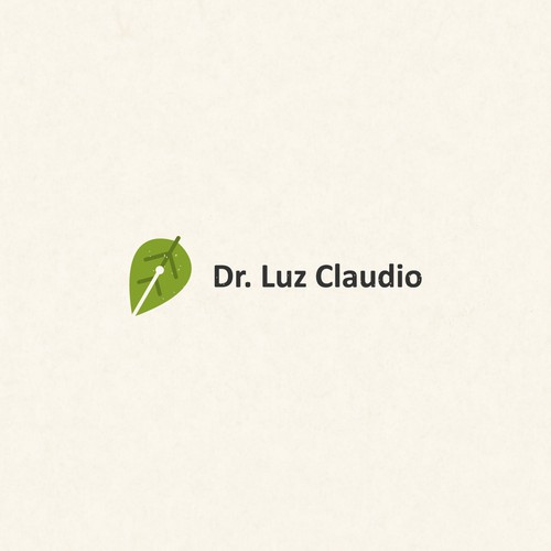 Create a logo for a scientist who writes.