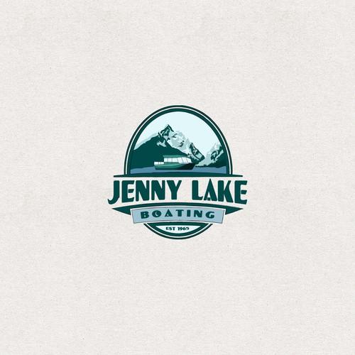 Jenny Lake Boating Logo
