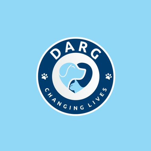 Logotipo for DARG - Changing Lives