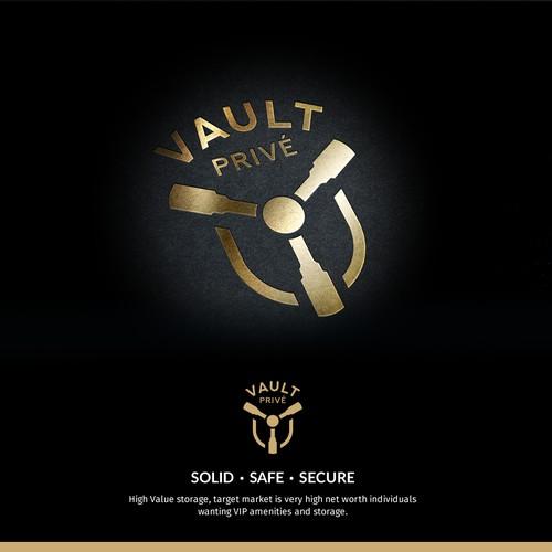 Logo concept for VAULT Privé