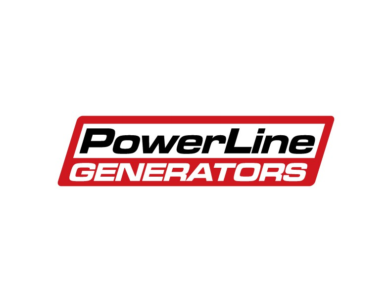 """We need a logo for """"Powerline Generators"""", a line of industrial generator sets that we design and build."""