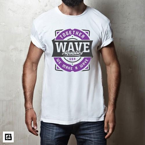 Wave Aquatics t-shirt