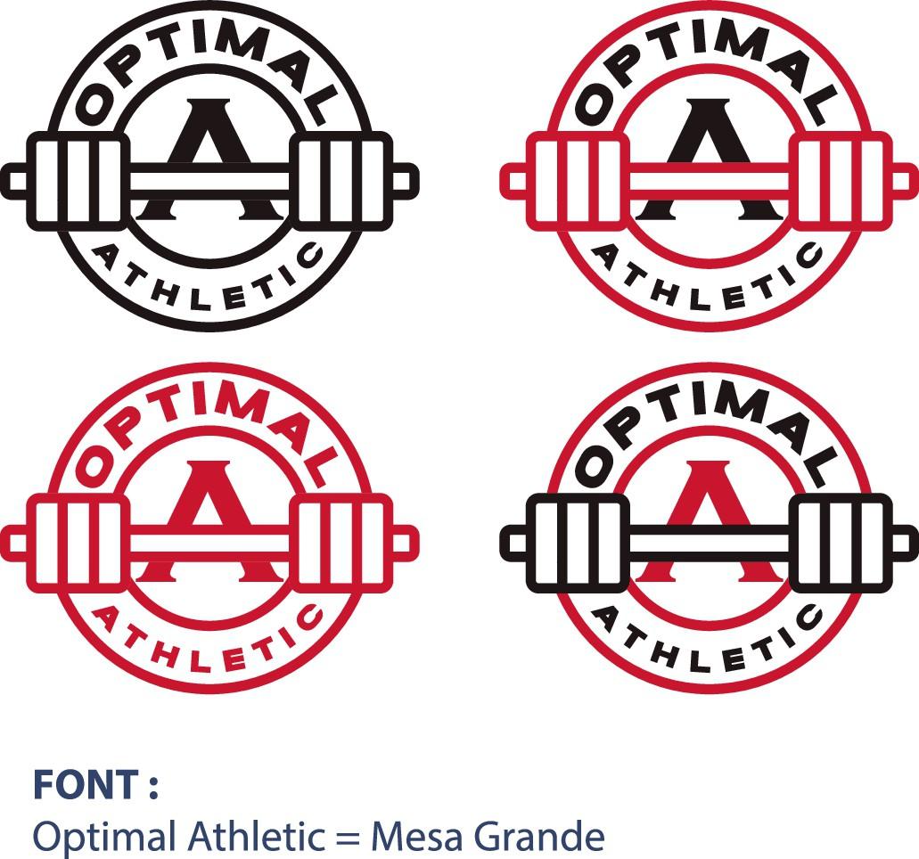 Optimal Athletics Logo Design