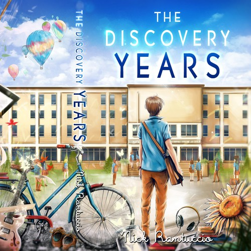 The Discovery Years -  book cover