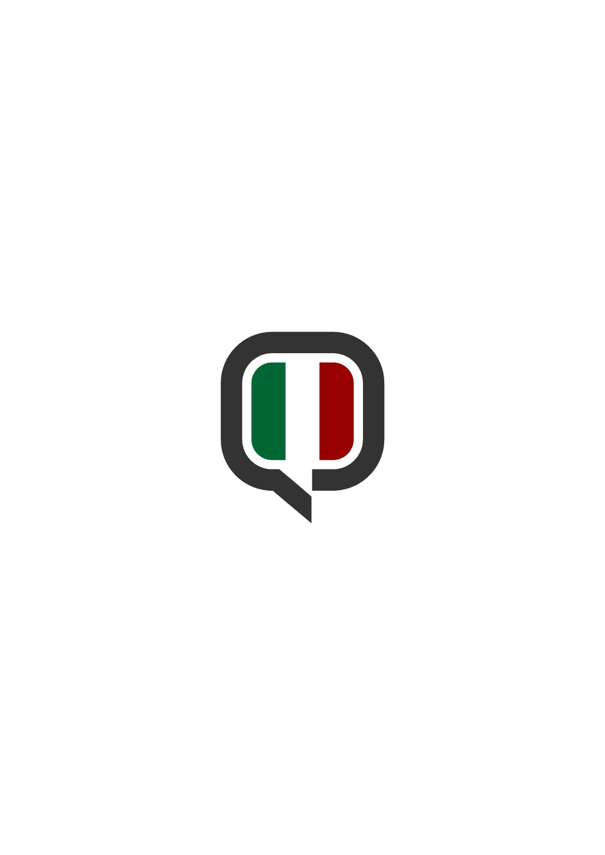 Striking logo for 'Italiano' - school, teaching Italian all over Norway