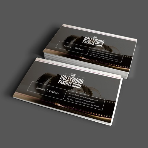 Hollywood Parents Guide Business Card