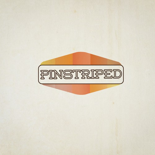 Create the next logo for Pinstriped