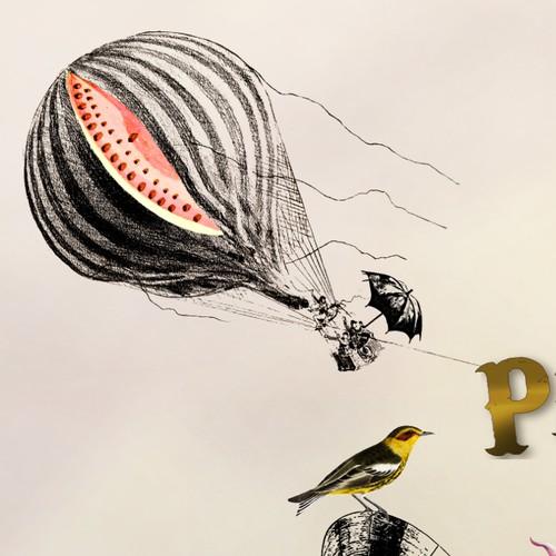 Monty Python style collage for irreverent newsletter